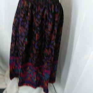 Floral pro3nt Skirt